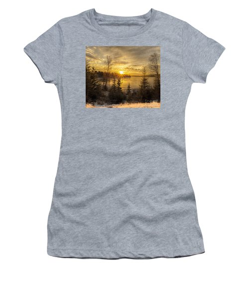 Women's T-Shirt (Junior Cut) featuring the photograph Norway Hedmark by Rose-Maries Pictures