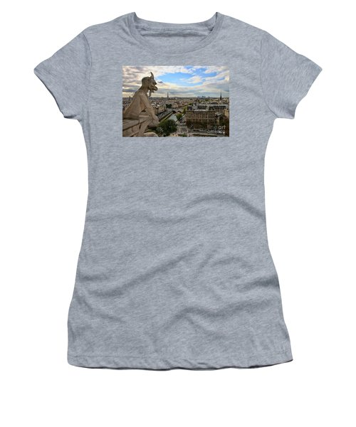 Notre Dame Gargoyle Women's T-Shirt