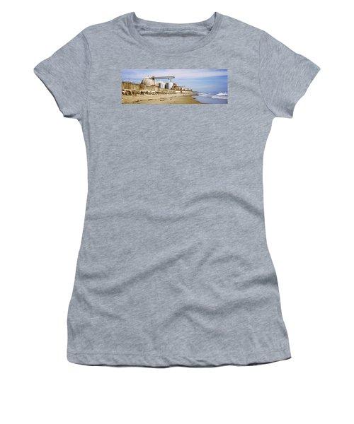 Nuclear Power Plant On The Beach, San Women's T-Shirt