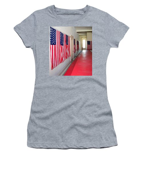 Oh Say Can You See Women's T-Shirt (Athletic Fit)