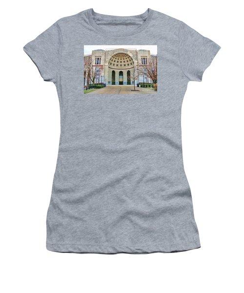 Ohio Stadium Main Entrance 1672 Women's T-Shirt (Athletic Fit)