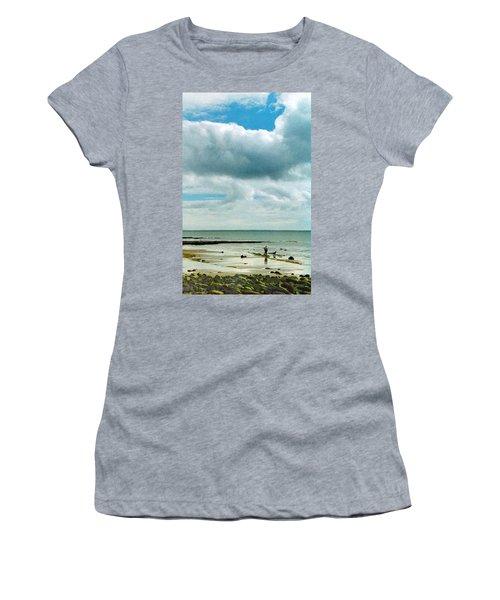 Old Friends Share A Beach Women's T-Shirt