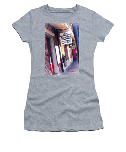 Women's T-Shirt (Junior Cut) featuring the photograph Old Nawlins by Erika Weber