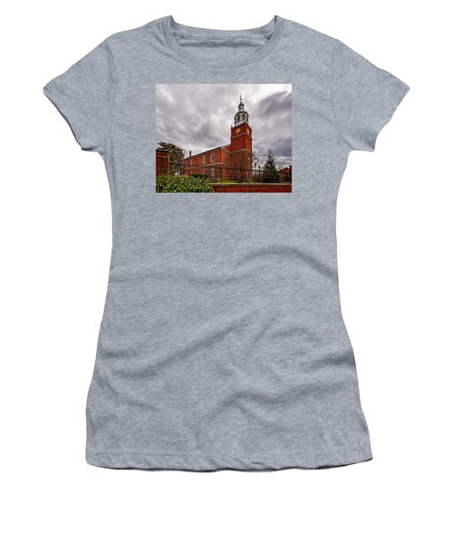 Old Otterbein Country Church Women's T-Shirt (Athletic Fit)