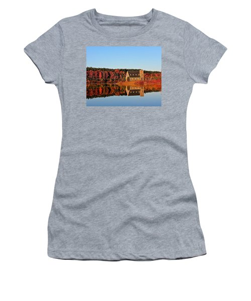 Old Stone Church Women's T-Shirt (Athletic Fit)