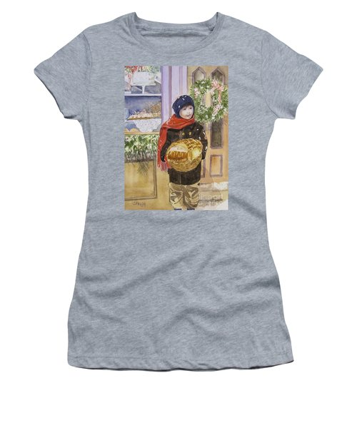 Old Time Christmas Women's T-Shirt (Junior Cut)