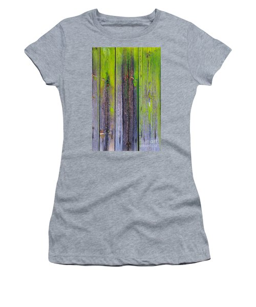 Old Wooden Background Women's T-Shirt