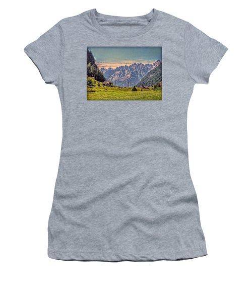 On The Alp Women's T-Shirt (Junior Cut)