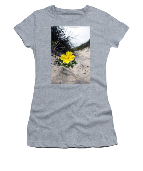 Women's T-Shirt (Junior Cut) featuring the photograph On The Path by Sennie Pierson