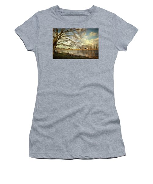 On The River Side Women's T-Shirt (Athletic Fit)