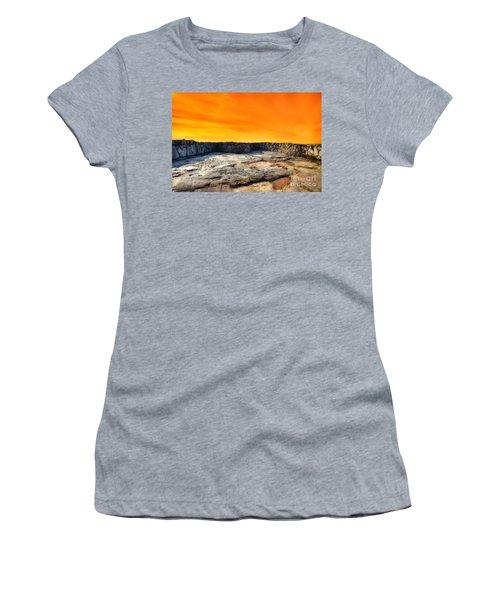 Orange Blaze Women's T-Shirt