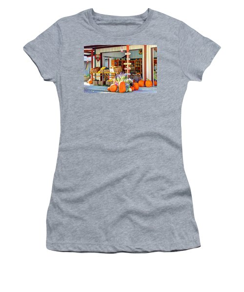Orchard Valley Market Women's T-Shirt (Athletic Fit)
