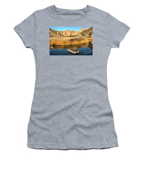 Oregon River Rock Reflections Women's T-Shirt