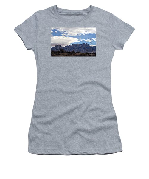 Organ Mountain Landscape Women's T-Shirt (Athletic Fit)