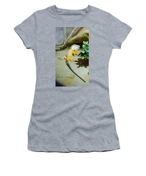 Out Of Africa Orange Lizard 2  Women's T-Shirt