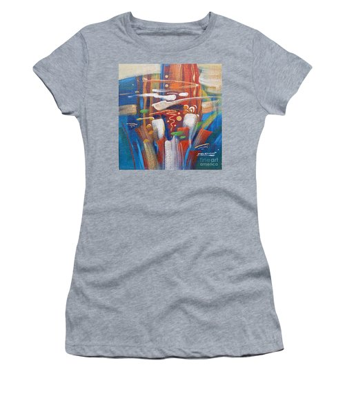 Outburst Women's T-Shirt (Athletic Fit)