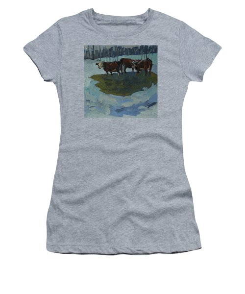 Outstanding In Their Field Women's T-Shirt (Junior Cut) by Phil Chadwick