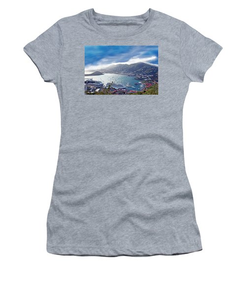 Overlooking The Bay Women's T-Shirt (Athletic Fit)