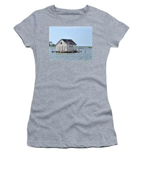 Oyster Shucking Shed Women's T-Shirt
