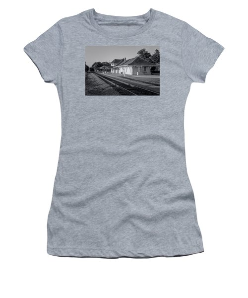 Palatka Train Station Women's T-Shirt (Athletic Fit)