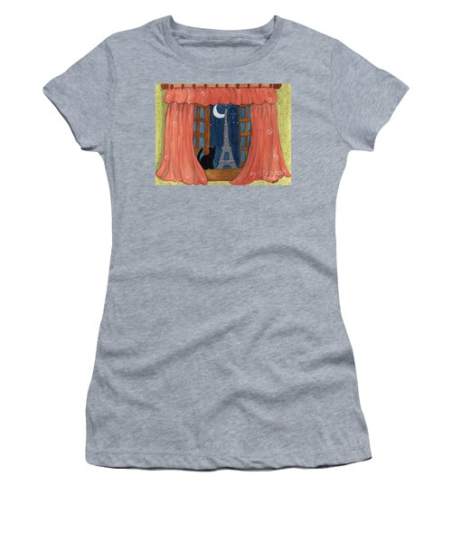 Paris Moonlight Women's T-Shirt
