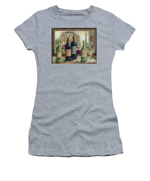 Paris Wine Tasting With A View Women's T-Shirt