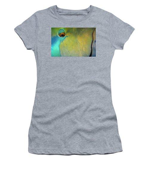 Parrotfish Women's T-Shirt (Athletic Fit)