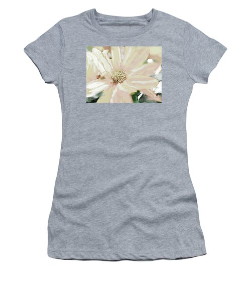 Pastel Daisy Photoart Women's T-Shirt (Athletic Fit)
