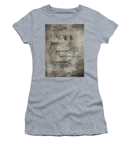 Patent Art Trombone Women's T-Shirt