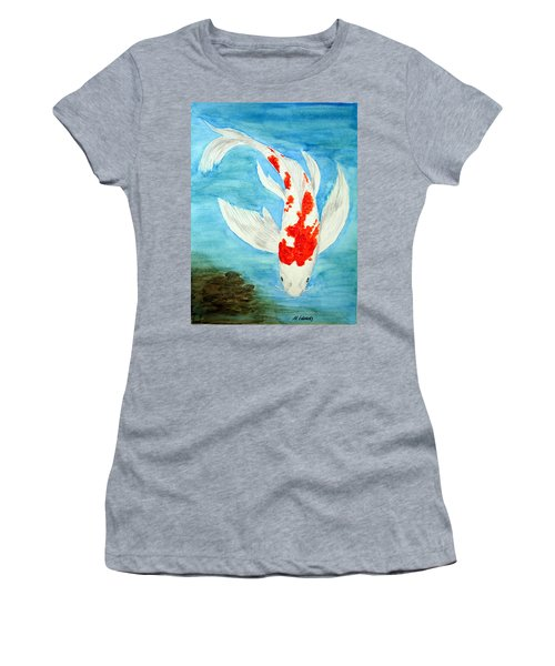 Paul's Koi Women's T-Shirt (Athletic Fit)