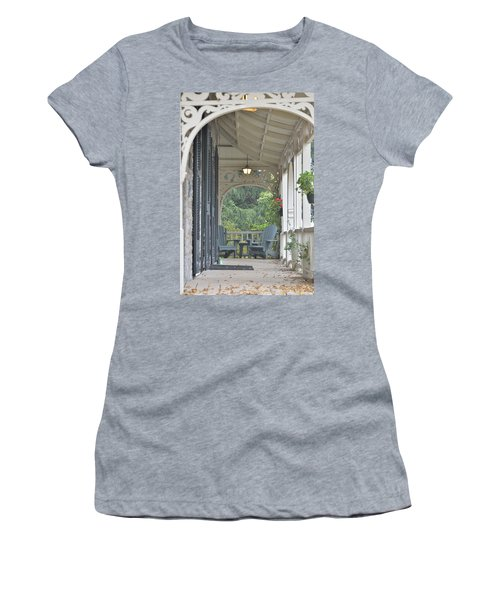 Pause For Reflection Women's T-Shirt (Athletic Fit)