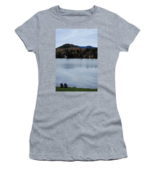 Peaceful Evening At The Lake Women's T-Shirt