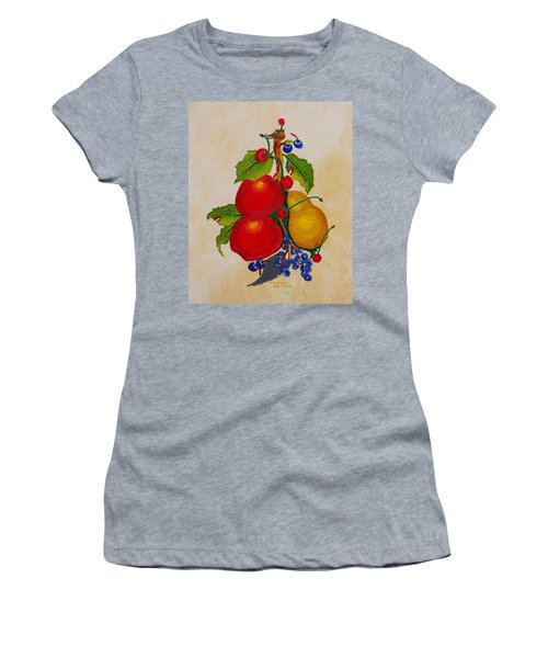 Pear And Apples Women's T-Shirt (Athletic Fit)