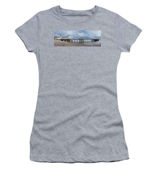 Penarth Pier Panorama 1 Women's T-Shirt (Athletic Fit)