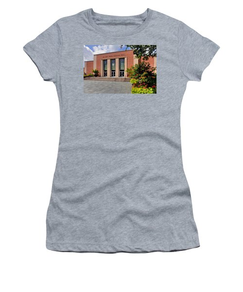 Women's T-Shirt (Junior Cut) featuring the photograph Phi Beta Kappa Hall by Jerry Gammon