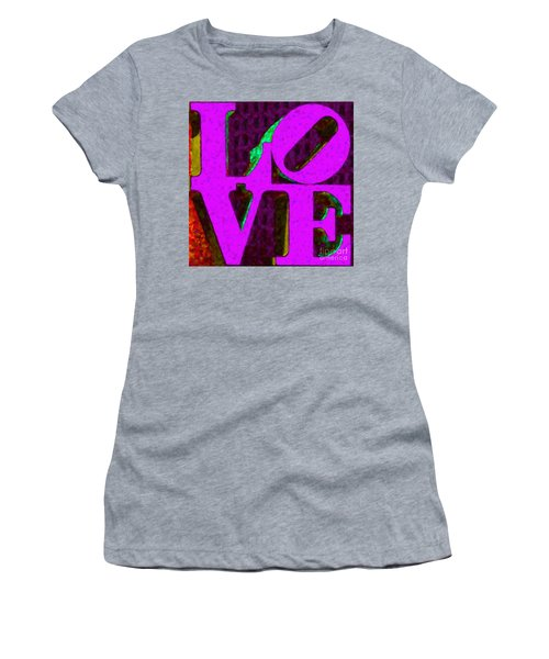Philadelphia Love - Painterly V2 Women's T-Shirt