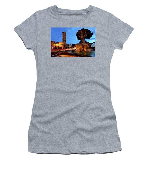 Piazza Della Bocca Della Verita' Women's T-Shirt