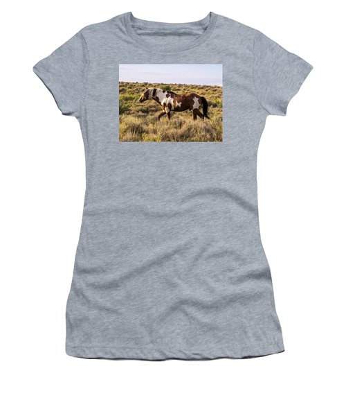 Picasso - King Of Sand Wash Basin Women's T-Shirt (Junior Cut) by Nadja Rider