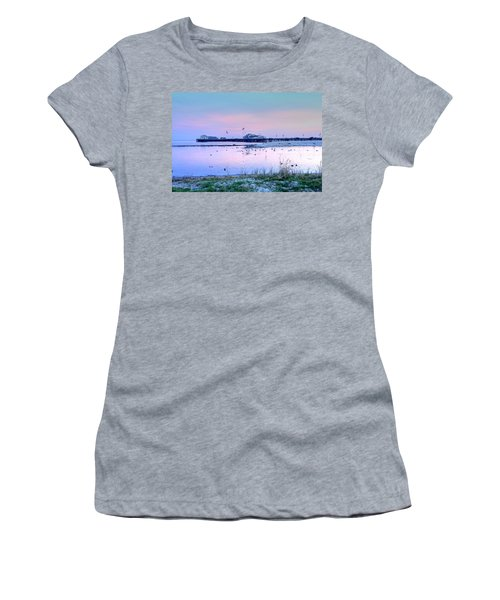 Pier Pond And Sea Women's T-Shirt