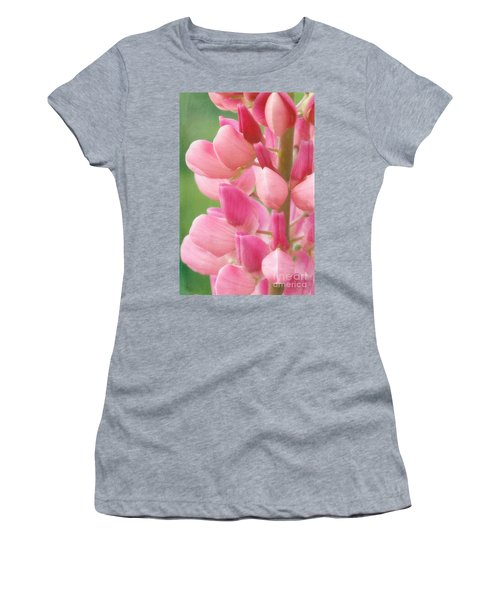 Pink Lupine 974 Women's T-Shirt (Athletic Fit)