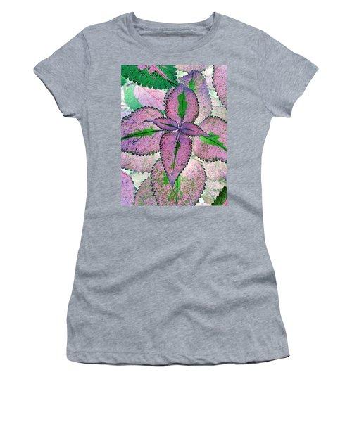 Plant Pattern - Photopower 1212 Women's T-Shirt (Athletic Fit)