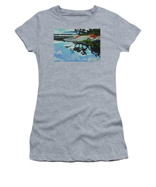Point Paradise Women's T-Shirt (Junior Cut) by Phil Chadwick