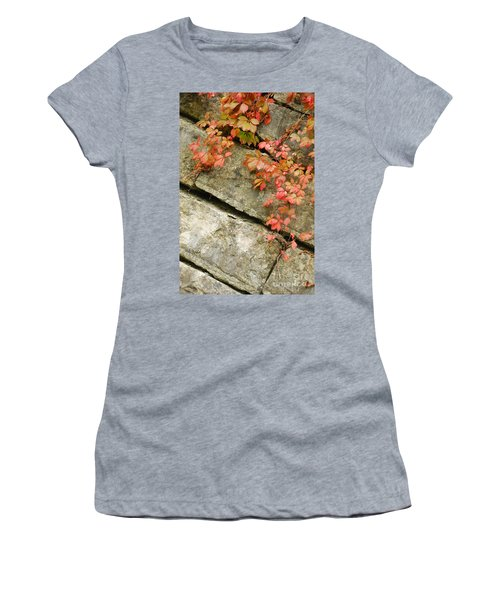 Women's T-Shirt (Junior Cut) featuring the photograph Poison Ivy by Mary Carol Story