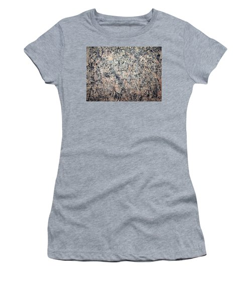 Pollock's Number 1 -- 1950 -- Lavender Mist Women's T-Shirt (Athletic Fit)