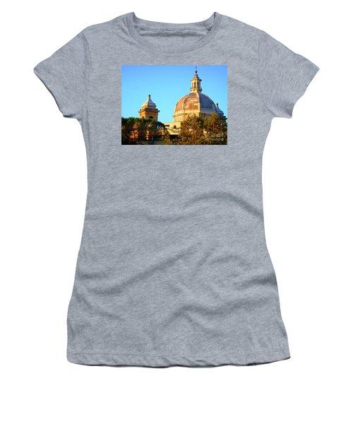 Ponte Milvio Roma Women's T-Shirt (Athletic Fit)