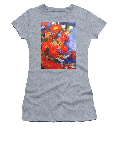 Poppies Gone Wild Women's T-Shirt