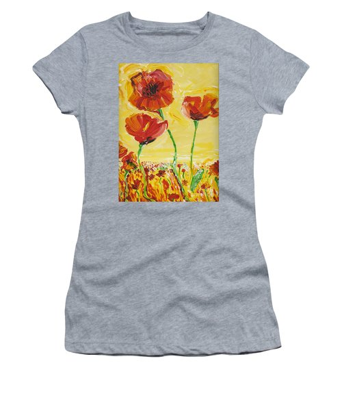 Poppies Impression Women's T-Shirt