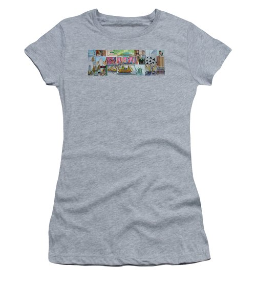 Postcards From New York City Women's T-Shirt
