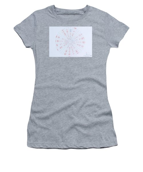 Prime Number Pattern P Mod 40 Women's T-Shirt