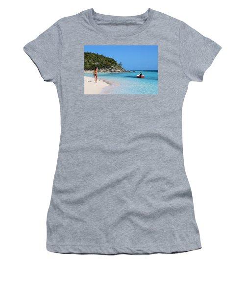 Private Beach Bahamas Women's T-Shirt